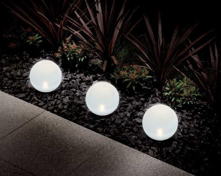 Store direct usine trouver les luminaires pour l 39 ext rieur for Globe lumineux exterieur